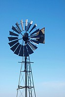 A windmill on a farm in Kwazulu Natal, South Africa used for pumping fresh water from underground  KwaZulu Natal, South Africa