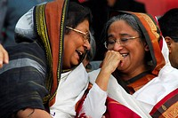 Awami League chief Sheikh Hasina announced a serious of tough protest programe from a rally organized by 14 party alliances Former presidents HM Ersha...