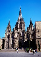 The Cathedral of the Holy Cross and Santa Eulalia Barcelona Cathedral