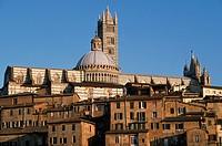 Italy, Tuscany, Siena, Duomo, cathedral,