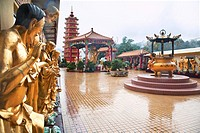 Hong Kong, Sha Tin, Pai Tau Village, Ten Thousand Buddhas Monastery, Man Fat Tsz