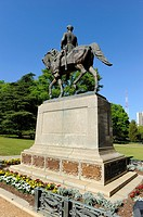 Wade Hampton Statue Columbia South Carolina Buildings Statues and Landmarks on the State Capitol Capital grounds SC