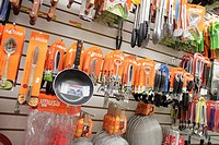 Florida, Miami Beach, retail display, shopping, for sale, products, kitchenware