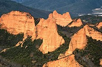 Las Medulas, natural monument in Castilla Le&#243;n province, Spain