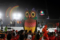 Performers display Bangladeshi culture during the inauguration of 2011 ICC Cricket World Cup at Bangabandhu National Stadium Dhaka, Bangladesh Februar...
