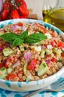 Panzanella Panmolle bread salad, Tuscany, Italy, Europe