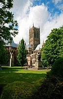 The magnificent Lincoln Cathedral, The Cathedral Church of the Blessed Virgin Mary of Lincoln