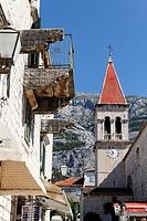 St Marks Cathedral, Makarska, Dalmatia, Croatia