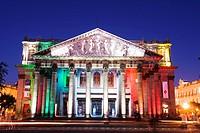 Teatro Degollado, Guadalajara, Mexico, North America