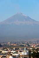 Volcan de Popocatepetl, 5452m, Cholula, Puebla state, Mexico North America