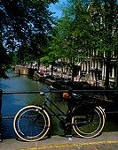 Amsterdam _ Canals & bicycles, iconic symbols of the city
