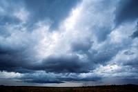 Thunderstorm approaching - Los Novios Ranch - near Cotulla, Texas USA