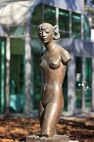 Bronze sculpture, Leo Mol Sculpture Garden, Assiniboine Park, Winnipeg, Manitoba, Canada.
