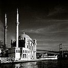 Ortakoy Mosque at Ortakoy in Istanbul, Turkey