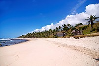 White sandy beach on Ile Sainte Marie, Madagascar, Indian Ocean, Africa