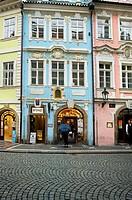Mostecka street, Mala Strana, Prague, Czech Republic