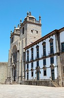 Kathedrale in Porto, Portugal