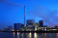 D-Oberhausen, Ruhr area, Lower Rhine, Rhineland, North Rhine-Westphalia, NRW, D-Oberhausen-Buschhausen, D-Oberhausen-Lirich, waste disposal, power gen...
