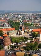 Poland, Krakow, Wawel Cathedral at Wawel Hill