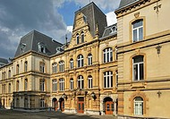 The old courthouse / Palais de Justice at Luxembourg, Grand Duchy of Luxembourg