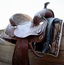 A saddle.