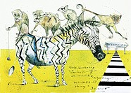 Collage Zebra