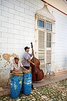 Musicians, Trinidad city, Sancti Spiritus Province, Cuba.