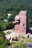 Burgfriedruine