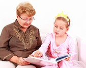 Reading with granny