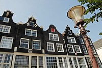 Historic homes dating from the 17th century, Gouden Reael, Amsterdam, the Netherlands