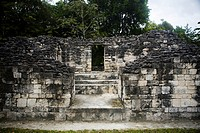 Becán archaeological site, Yucatan, Mexico