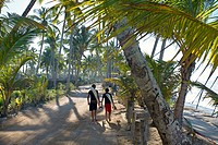 Beach, Las Terrenas, Samana Peninsula, Dominican Republic, West Indies, Caribbean