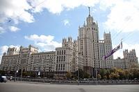 kotelnicheskaya embankment, moscow, russia, europe