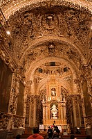 Rosario Chapel at Puebla City, Mexico