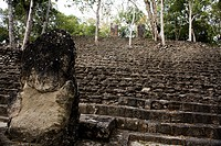 Calakmul archaeological site, Yucatan, Mexico