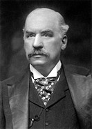 JOHN PIERPONT MORGAN(1837-1913). American banker and financier.