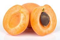 Studio shot of apricots