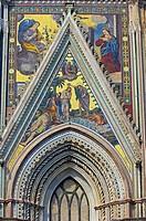 Orvieto, Cathedral, Duomo Santa Maria Assunta, Terni Province, Umbria, Italy