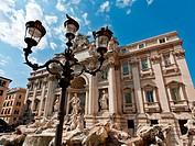 Trevi Fountain _ famous landmark in Rome