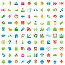 one hundred fully editable vector web ic