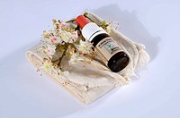 Bottle, with, Bach, Flower, Stock, Remedy, ´White, Chestnut´, Horse, Chestnut, Aesculus, hippocastanum,