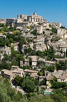 Mountain village in South of France
