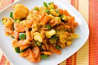 Afrikanisches Gemüsegericht _ African Dish