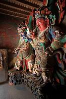 Pelkhor Choede Monastery Statues