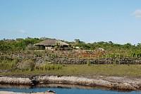 Cottage, road, highway, Lençois Maranhense, City, Santo Amaro, São Luis, Barreirinhas, Maranhão, Brazil