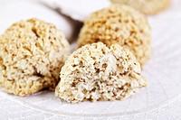 Makronen Christmas cookies