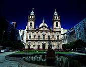 Church of Nossa Senhora da Candelaria Rio de Janeiro, Brazil