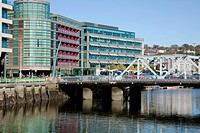 Bridge Over River Lee, Cork City, County Cork, Ireland