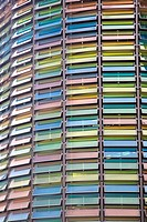 Multicoloured windows