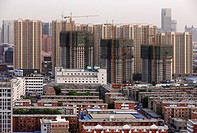 Cityscape of Tianjin, China